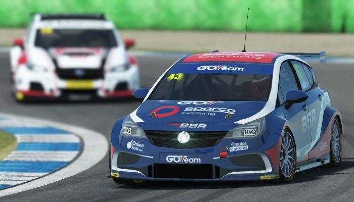 Vauxhall Astra BTCC simracing rfactor2 racing