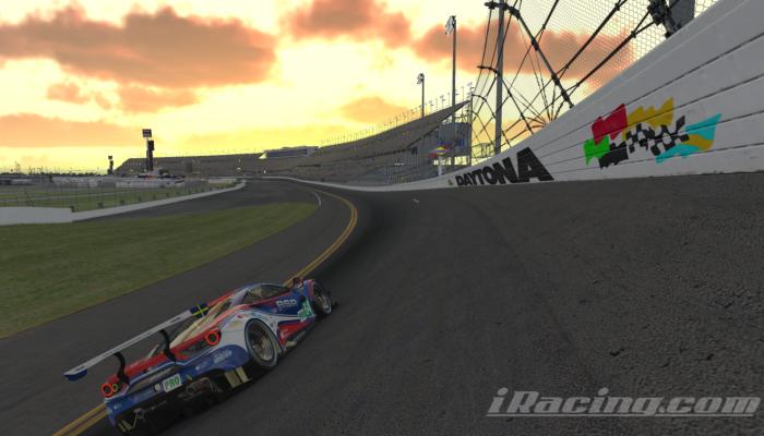 iRacing Daytona 24h Ferrari 488 GTE racing
