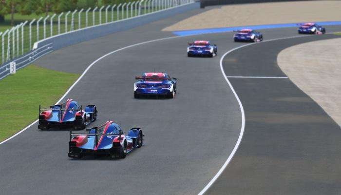 Le Mans 24h practice rFactor2